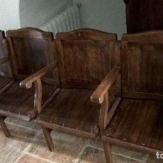 Antigüedades: BUTACAS DE CINE CON ASIENTOS ABATIBLES. Lote 89658380