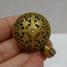 Antigüedades: TAPÓN DE FILIGRANA DORADA.. Lote 89678528