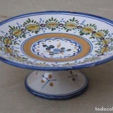 Antigüedades: FRUTERO ANTIGUO EN CERAMICA VIDRIADA DE TALAVERA / TOLEDO. -. Lote 89681492