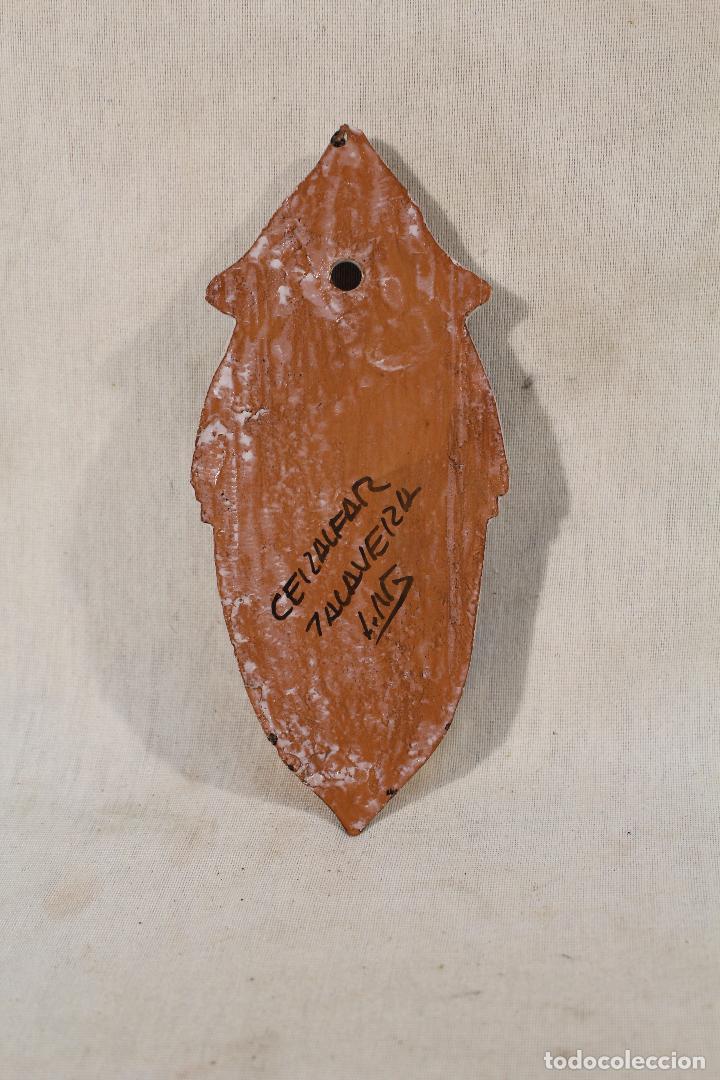 Antigüedades: benditera en ceramica de talavera - Foto 4 - 89706896