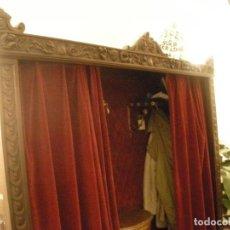 Antigüedades: ARMARIO ROPERO ENTRADA MADERA NOBLE. Lote 89749604