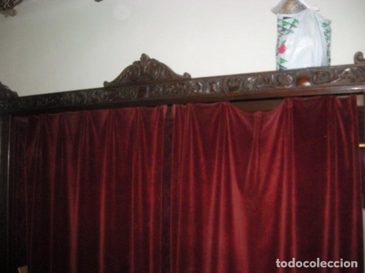 Antigüedades: Armario Ropero entrada madera noble - Foto 3 - 89749604