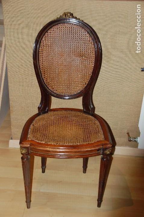 Sillas estilo luis xvi comprar sillas antiguas en todocoleccion 89786964 - Sillas estilo luis xvi ...
