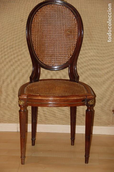 Sillas estilo luis xvi comprar sillas antiguas en for Sillas de estilo luis xvi