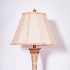 Antigüedades: ANTIGUA LAMPARA DE NACAR. Lote 89831172