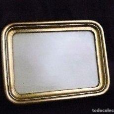 Antigüedades: ANTIGUO MARCO DORADO. Lote 89835800