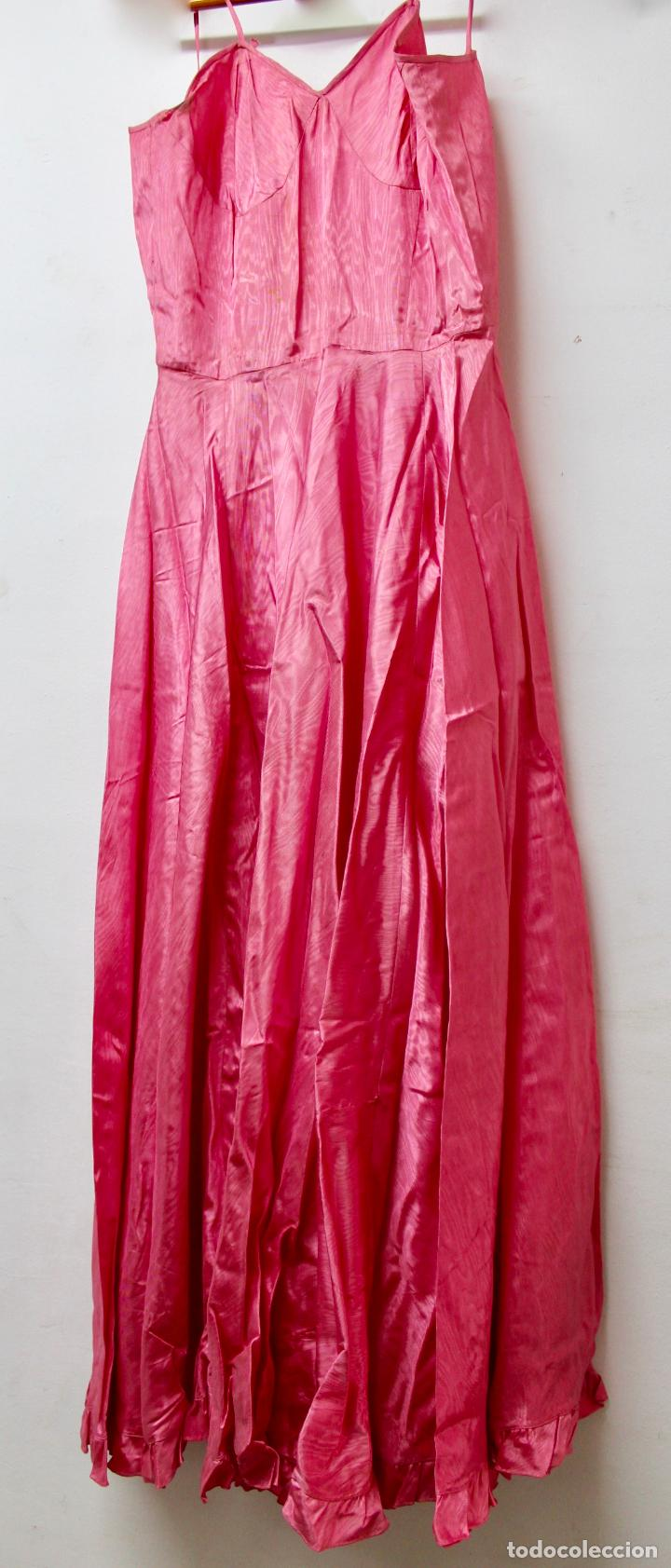 ve-148. vestido de fiesta en tela de raso de co - Comprar Moda ...