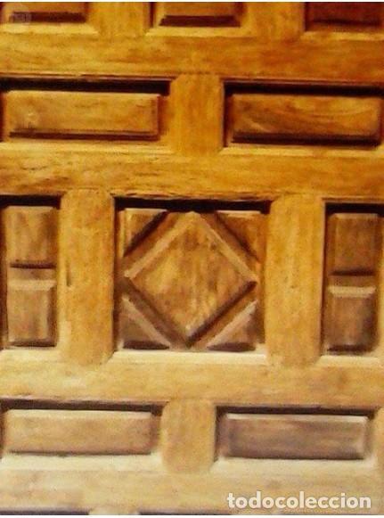 Antigüedades: PUERTA ANTIGUA DE CUARTERONES CON MARCO - Foto 3 - 89866708