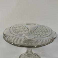 Antigüedades: FRUTERO EN CRISTAL DE SANTA LUCIA - CARTAGENA. Lote 89881536