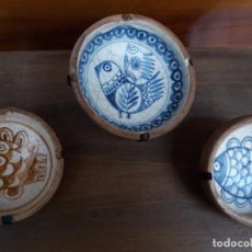 Antigüedades: PLATOS ANTIGUOS DECORACION. Lote 89886528