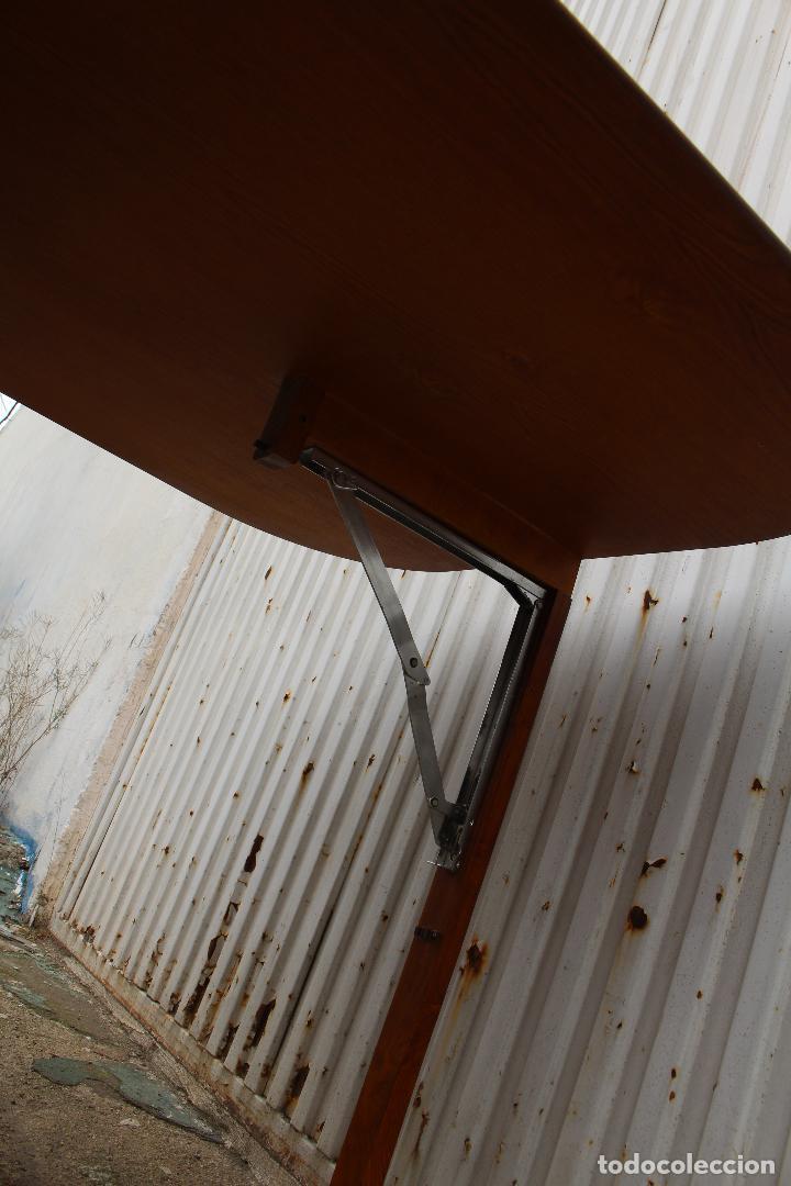 Antigüedades: mesa de alas en madera - Foto 5 - 89913844
