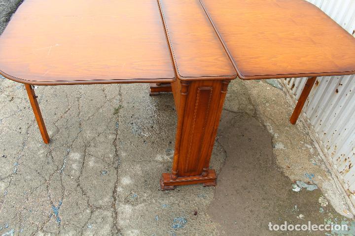 Antigüedades: mesa de alas en madera - Foto 7 - 89913844