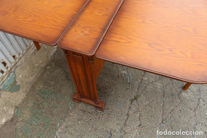 Antigüedades: mesa de alas en madera - Foto 9 - 89913844