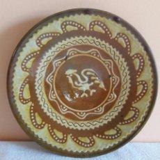 Antigüedades: PLATO DE CERÁMICA SELLADO TITO UBEDA. Lote 90025868