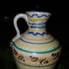 Antigüedades: ACEITERA DE CERAMICA. SIGLO XVIII. . Lote 90058244