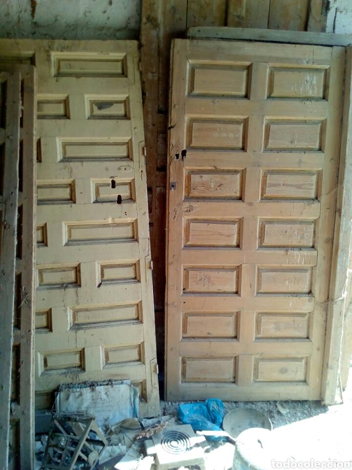 Puertas antiguas de cuarterones m 1 comprar for Puertas de cuarterones antiguas