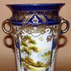 Antigüedades: JARRÓN DE PORCELANA JAPONESA NORITAKE. Lote 90098052