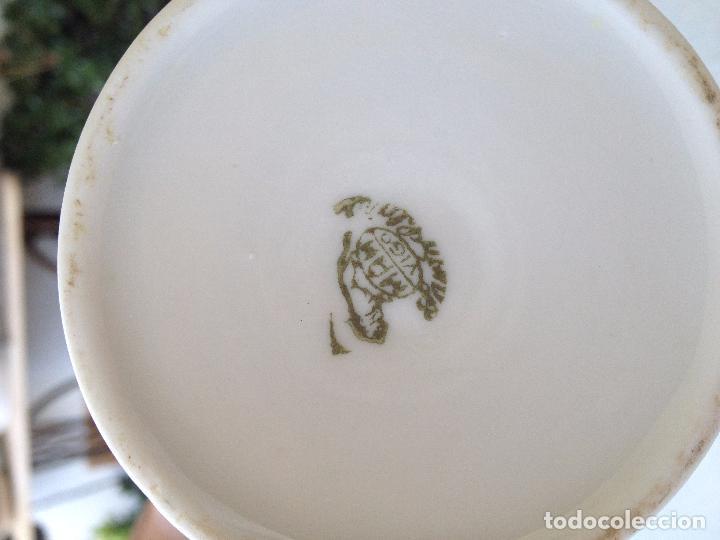 Antigüedades: Precioso y coqueto conjunto cafetera+azucarera+tacitas Santa Clara - Foto 6 - 89792236