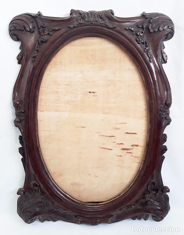 precioso marco de resina imitacion a madera - Comprar Marcos ...