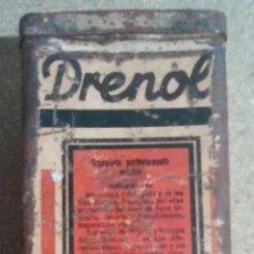 Antigüedades: LATA DRENOL. Lote 90190076