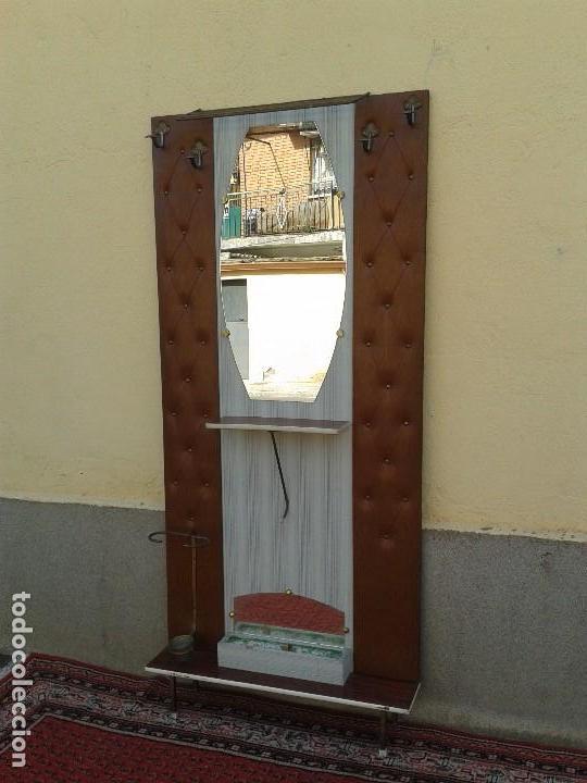 Mueble recibidor antiguo retro vintage mueble d comprar - Perchero recibidor antiguo ...