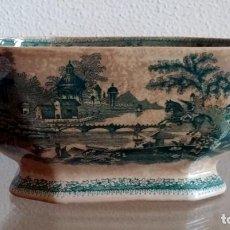 Antigüedades: FUENTE HONDA DE REAL FÁBRICA DE SACABEN - PORTUGAL - REF. 416. Lote 90213024