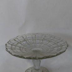 Antigüedades: FRUTERO EN CRISTAL DE SANTA LUCIA-CARTAGENA. Lote 90231184