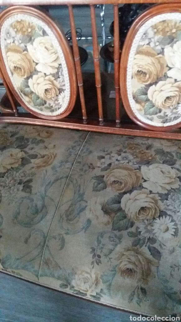 Antigüedades: Antiguo sofa banco - Foto 3 - 90234242