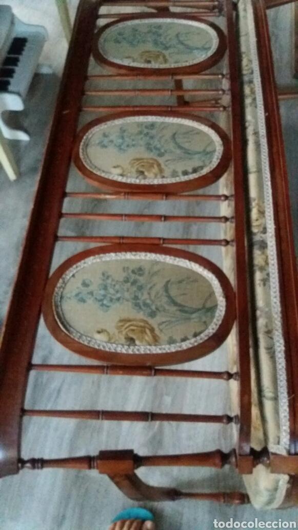 Antigüedades: Antiguo sofa banco - Foto 6 - 90234242