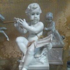 Antigüedades: FIGURA DE PORCELANA ALGORA. Lote 90236794