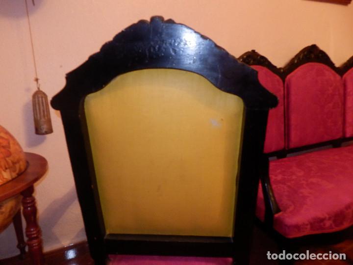 Antigüedades: conjunto de silleria antigua 10 piezas silla comedor vintage - Foto 6 - 90298044