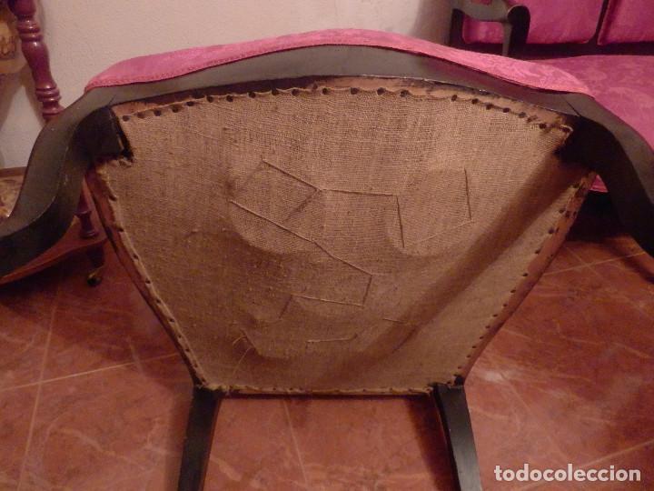 Antigüedades: conjunto de silleria antigua 10 piezas silla comedor vintage - Foto 7 - 90298044