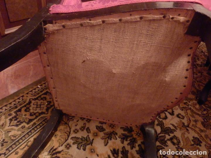 Antigüedades: conjunto de silleria antigua 10 piezas silla comedor vintage - Foto 10 - 90298044