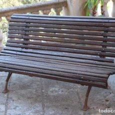 Antigüedades: BANCO DE JARDÍN . Lote 90339820