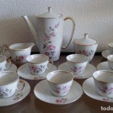 Antigüedades: JUEGO DE CAFÉ - SANTA CLARA - 9 SERVICIOS. REF. 714. Lote 90345504