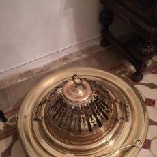 Antigüedades: BRASERO ANTIGUO EN BRONCE. Lote 90349064