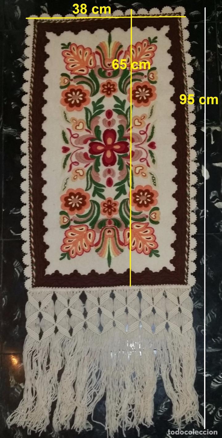 Antigüedades: Tapiz bordado - Foto 8 - 90405589