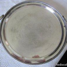 Antigüedades: BANDEJA DE ALPACA. Lote 90430959