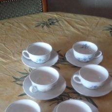 Antigüedades: ANTIGUO JUEGO DE CAFÉ DE PORCELANA SHUMANN ARZBERG BAVARIA, GERMANY. Lote 90462709