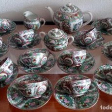 Antigüedades: JUEGO DE TÉ - PORCELANA CHINA DE MACAO - AOMEN 12 SERVICIOS - REF. 427. Lote 90467504
