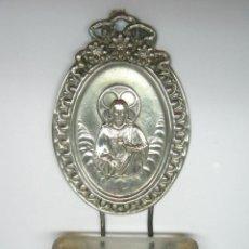 Antigüedades: ANTIGUA BENDITERA CORAZON DE JESUS. Lote 90475984