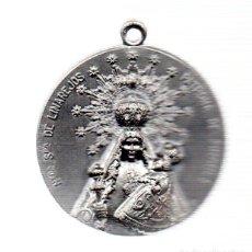 Antigüedades: MEDALLA EN RELIEVE DE NTRA, SRA. DE LINAREJOS, PATRONA DE LINARES, JAEN. REVERSO ESCUDO DE LINARES. Lote 90483259