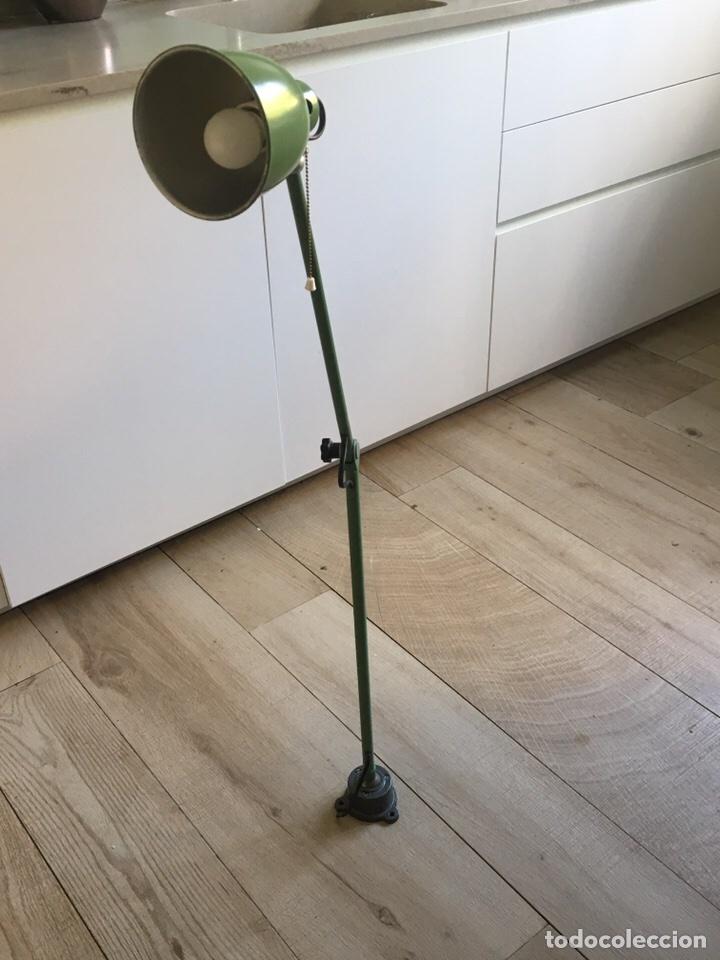 LAMPARA INDUSTRIAL (Antigüedades - Iluminación - Lámparas Antiguas)