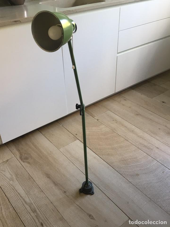 LÁMPARA INDUSTRIAL (Antigüedades - Iluminación - Lámparas Antiguas)