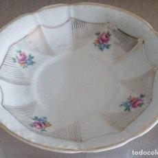 Antigüedades: PLATITO DE PORCELANA SANTA CLARA. REF. 722. Lote 90542505