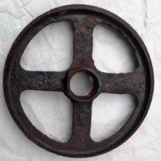 Antigüedades: RUEDA DE ARADO ROMANO MIDE 20 CENTIMETROS DE DIAMETRO. Lote 90561695