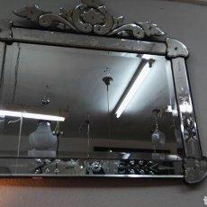 Espejo veneciano con florecitas todo en rosa e comprar - Espejo veneciano antiguo ...
