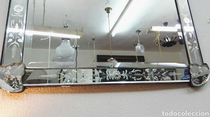 Espejo veneciano comprar murano cristal y vidrio antiguo - Espejo veneciano antiguo ...