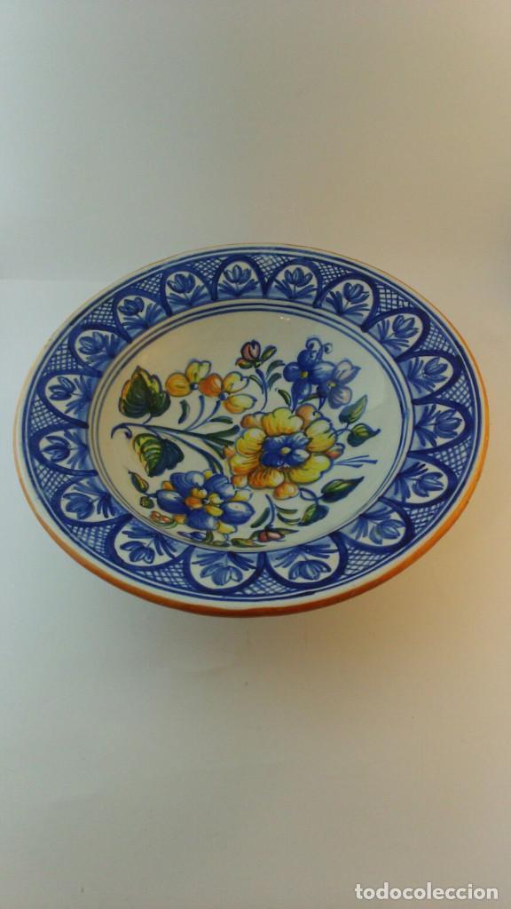 FUENTE CERMICA TALAVERA (Antigüedades - Porcelanas y Cerámicas - Talavera)