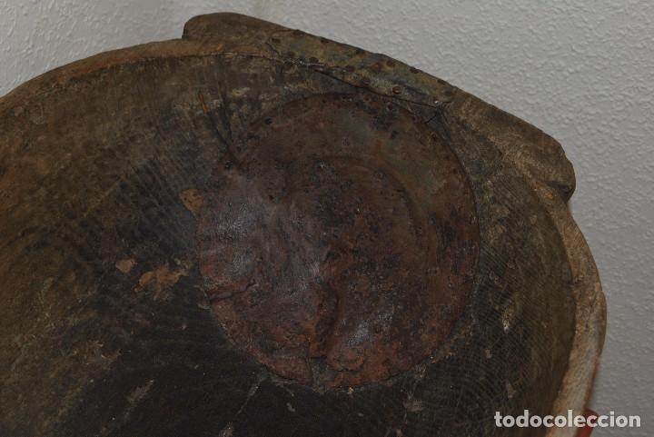 Antigüedades: ARTESA DE MADERA DE UNA SOLA PIEZA - PARA PAN O MATANZA - SIGLO XIX - ETNOGRAFÍA - Foto 3 - 90626615